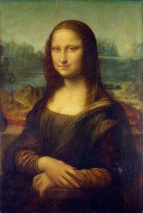 Mona Lisa byLeonardo da Vinci; Public domain, via Wikimedia Commons